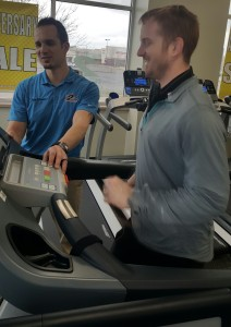 Gym-quality treadmill